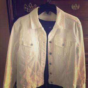 Chico's brand White jean jacket